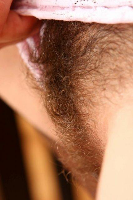 лобке волосами индивидуалки с на