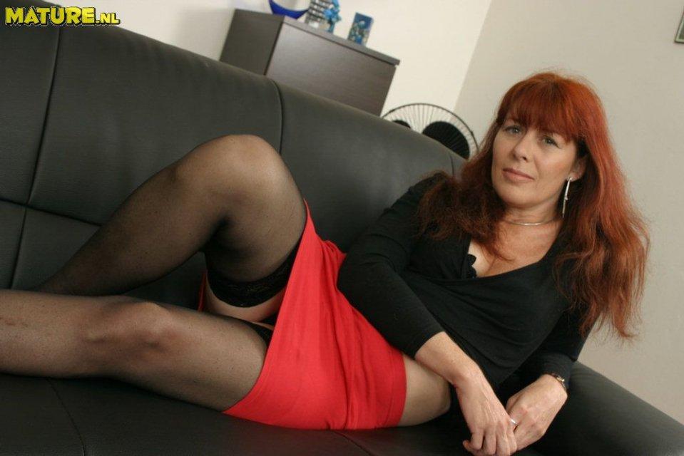 зрелые женщины рыжие