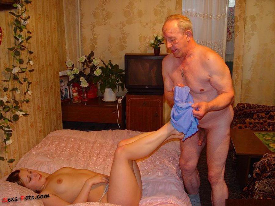 Милая дед порно внучка и русский
